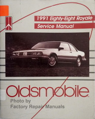 1991 Oldsmobile Eighty Eight Royale Service Manual