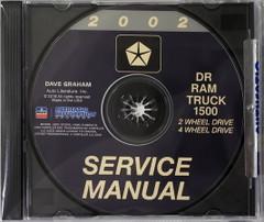 2002 Service Manual DR Ram Truck 1500 2 Wheel Drive 4 Wheel Drive