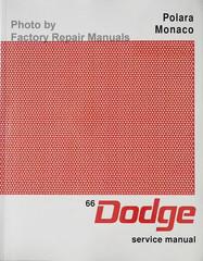 1966 Dodge Polara Monaco Service Manual