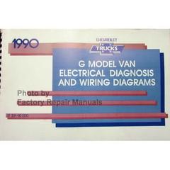 1990 G Model Van Electrical Diagnosis & Wiring Diagrams