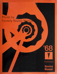 1968 Pontiac Service Manual Reprint