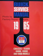1965 Buick Chassis Service Manual - 45000, 46000 , 48000 and 49000 Models