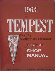 1963 Pontiac Tempest Chassis Shop Manual