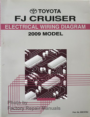 2009 Toyota FJ Cruiser Electrical Wiring Diagrams