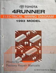 1993 Toyota 4Runner Electrical Wiring Diagrams
