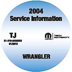 2004 Jeep Wrangler Service Information Manual