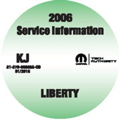 2006 Jeep Liberty Service Manual