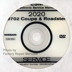 2020 Nissan 370Z ESM Electronic Service Manual