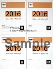 2018 Chevrolet Sonic GM Service Manual Volume 1, 2, 3, 4