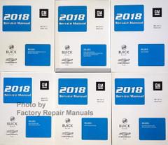 2018 Buick Encore Chevrolet Trax Service Manual Volume 1, 2, 3, 4, 5, 6