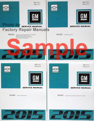 2017 Chevy Bolt EV Service Manual Volumes 1, 2, 3, 4