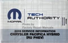 2019 Chrysler Pacifica Hybrid  Mopar Service Information USB