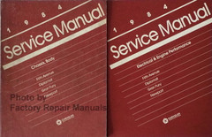 1984 Chrysler Fifth Avenue, Newport, Dodge Diplomat, Plymouth Grand Fury Service Manual Volume 1, 2