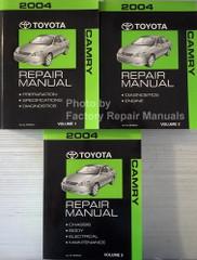 2004 Toyota Camry Repair Manual Volume 1, 2, 3