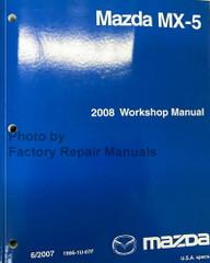 2008 Mazda MX-5 Miata Workshop Manual