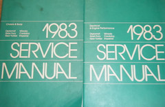 1983 Chrysler FWD Car Service Manual Volume 1, 2
