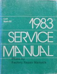 1983 Dodge Ram 50 Service Manual