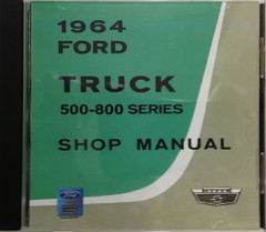 1964 Ford Truck 500-800 Series Shop Manual