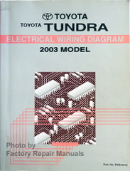 Toyota Tundra Electrical Wiring Diagrams 2003 Model