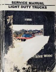 1986 GMC Light Duty Truck Service Manual