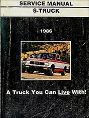 1986 GMC S-Truck Service Manual