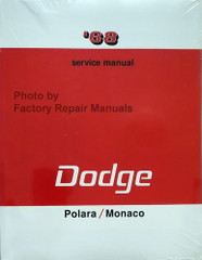 1968 Dodge Polara Monaco Service Manual