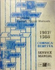 1987/1988 Chevy Corsica and Beretta Service Manual