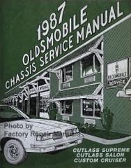 1987 Oldsmobile Cutlass Supreme Cutlass Salon Custom Cruiser Service Manual