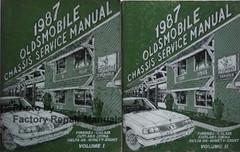 1987 Oldsmobile 98 Calais Ciera Delta 88 Firenza Service Manual