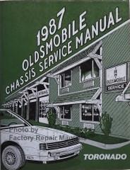 1987 Olds Toronado and Trofeo Service Manual