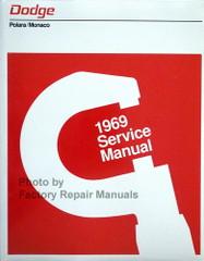 1969 Dodge Polara Monaco Service Manual
