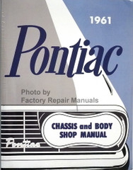 1961 Pontiac Chassis and Body Shop Manual