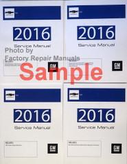2017 Chevrolet SS Service Manuals Volume 1, 2, 3, 4