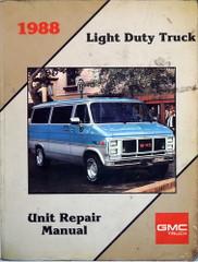 1988 GMC Light Duty Truck Unit Repair Manual