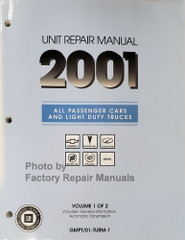 2001 GM Car and Truck Automatic Transmission Repair Overhaul Manual
