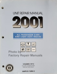 2001 GM Car and Truck 4x4 Transfer Case and Manual Transmission Repair Overhaul Manual
