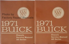 1971 Buick Chassis Service Manual All Series