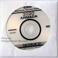 2020 Nissan Armada Service Information CD