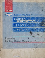 1990 Chevy Corsica and Beretta Service Manual