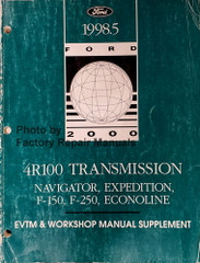 1998.5 4R100 Transmission Navigator, Expedition, F-150, F-250, Econoline EVTM & Workshop Manual Supplement