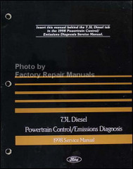1998 Ford 7.3L Diesel Powertrain Control/Emissions Diagnosis Service Manual