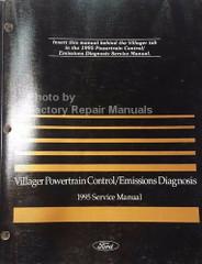 1995 Mercury Villager Powertrain Control / Emissions Diagnosis Service Manual