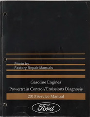 2010 Ford Gasoline Engines Powertrain Control/Emissions Diagnosis Service Manual