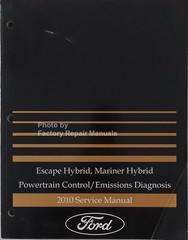 2010 Ford Escape Hybrid, Mercury Mariner Hybrid Powertrain Control/Emissions Diagnosis Service Manual