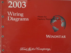 2003 Ford Windstar Wiring Diagrams