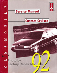 1992 Oldsmobile Custom Cruiser Service Manual