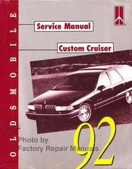 1992 Oldsmobile Custom Cruiser Service Manual
