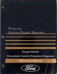 2005 Ford Escape Hybrid Powertrain Control/Emissions Diagnosis Service Manual