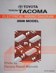 Toyota Tacoma Electrical Wiring Diagram 2008 Model