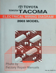 Toyota Tacoma Electrical Wiring Diagram 2003 Model
